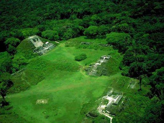Maya ruïnes in Mexico