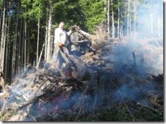 09-07-07 Burning stumps in lower pastures 008