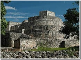 La grande Pyramide de Ek Balam