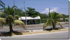 Gare Routiere ADO direction Cancun a Puerto Morelos